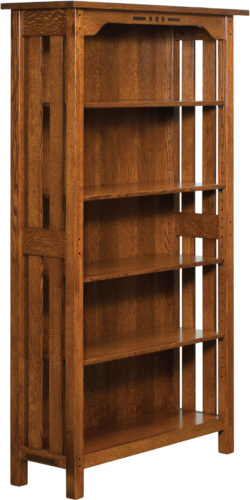 Custom Boulder Creek Collection Bookcase