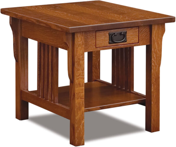 Custom Camden Collection End Table in Mission Style