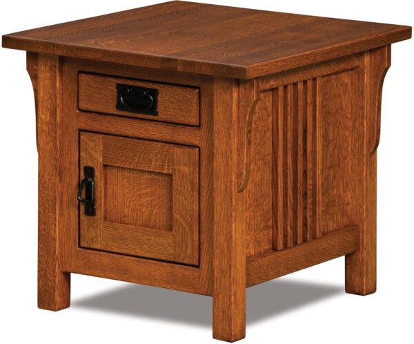 Custom Camden Cabinet End Table