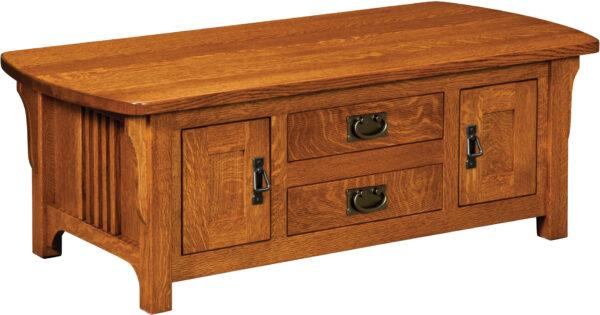Custom Craftsman Coffee Table Cabinet