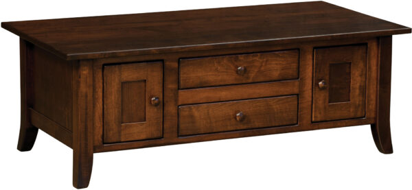 Dresbach Collection Cabinet Coffee Table