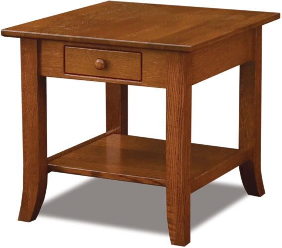Custom Dresbach End Table