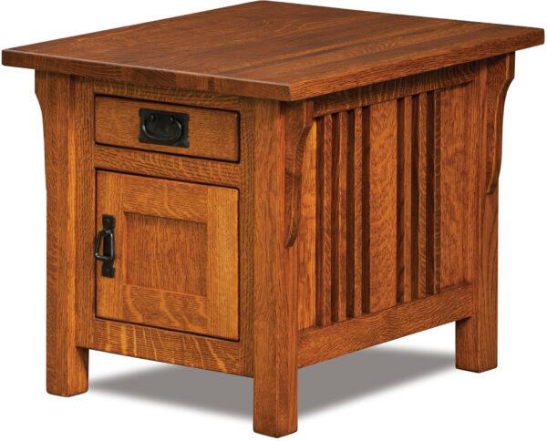 Custom Elliot End Table Cabinet