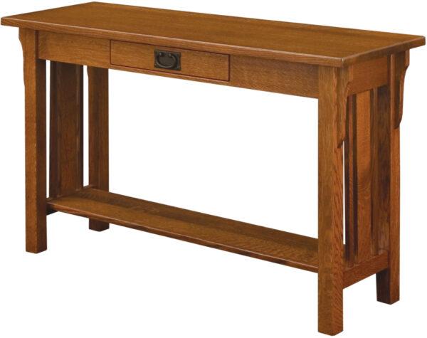 Custom Elliot Mission Collection Sofa Table