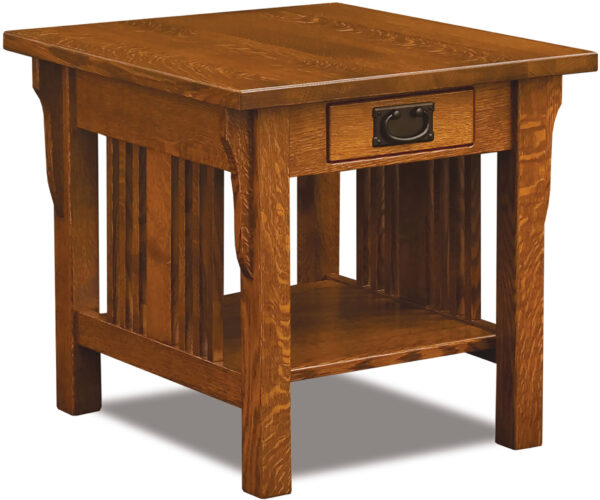 Custom Elliot Mission Collection Open End Table