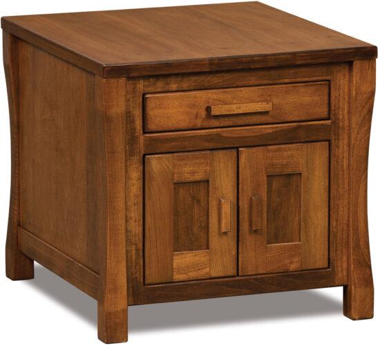 Custom Heartland Enclosed End Table