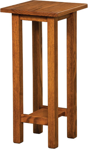 Custom Open Mission 18 Inch Plant Stand