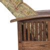 Amish Barwick Petite Wall Hugger Partially Reclined