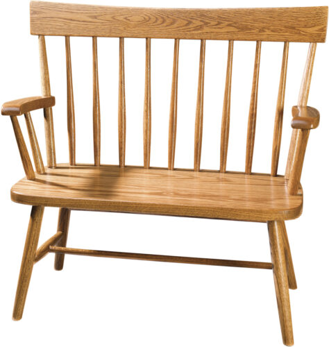 Amish Comback Youth Sized Bench