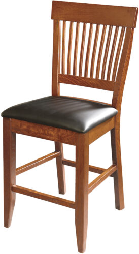 Amish Dillard Style Bar Chair without Arms