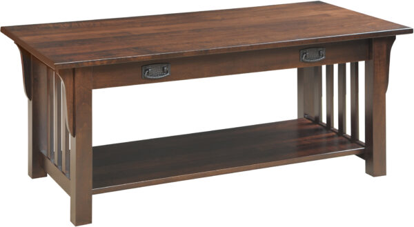 Amish Graham Style Coffee Table with Drawer