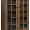 Amish Mission Style 2 Door Bookcase