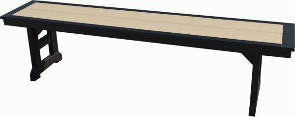 Custom Polywood Dining Bench