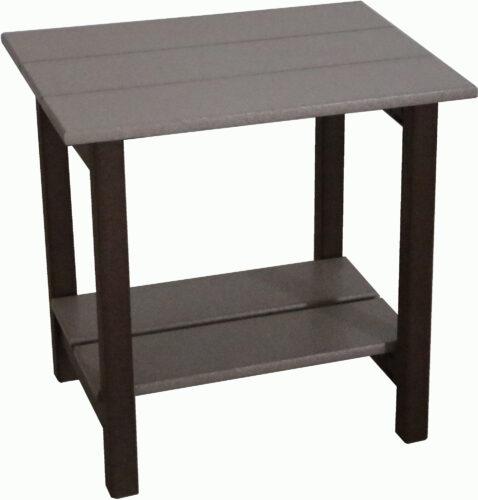 Custom Polywood Square End Table