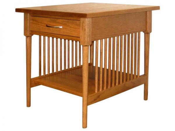 Spindle Shaker End Table