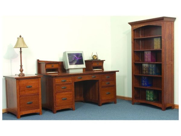 Amish Oakwood Office Set
