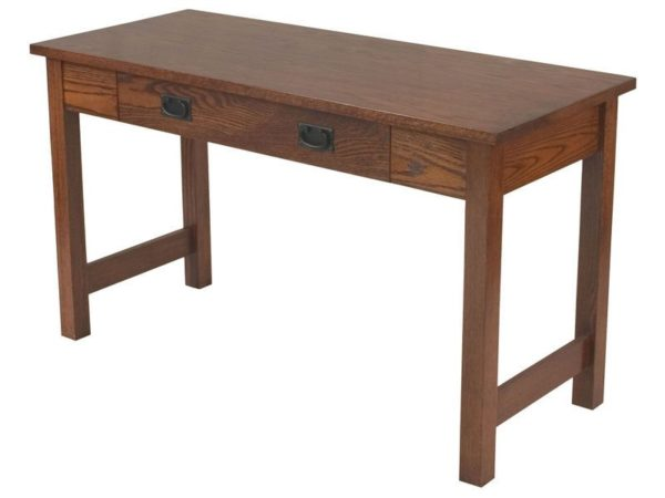 Amish Open Leg Computer Table