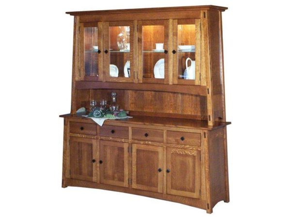 Amish McCoy 8 Door Hutch