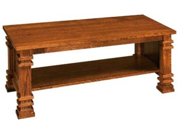 Amish Diamond Coffee Table
