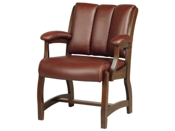 Edelweiss Client Chair Solid Wood Office