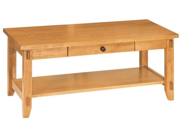 Amish Bungalow Open Coffee Table