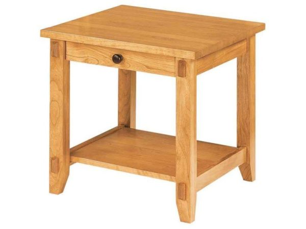 Amish Bungalow End Table