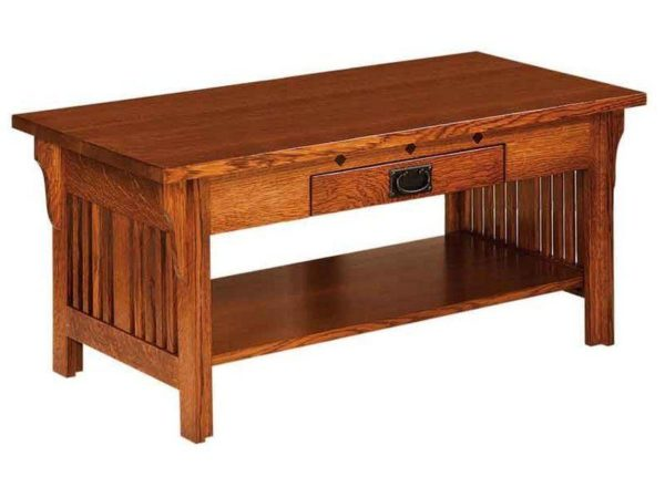 Amish Straight Royal Mission Coffee Table