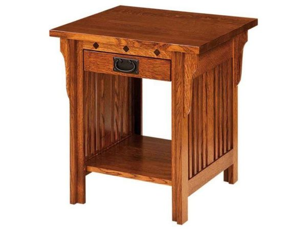 Amish Straight Royal Mission Open End Table