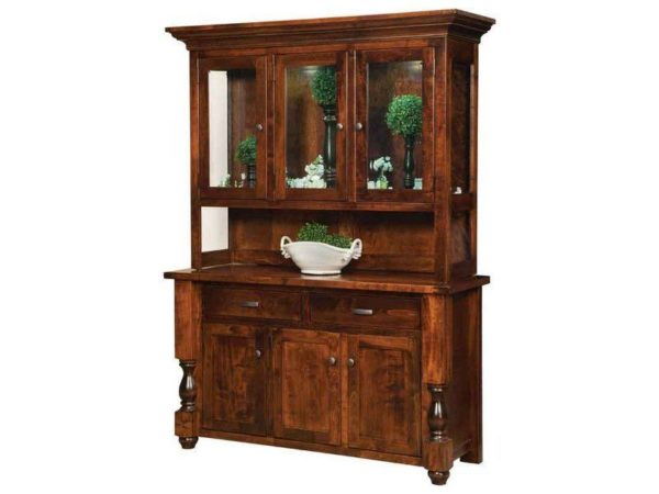 Amish Woodmont Hutch