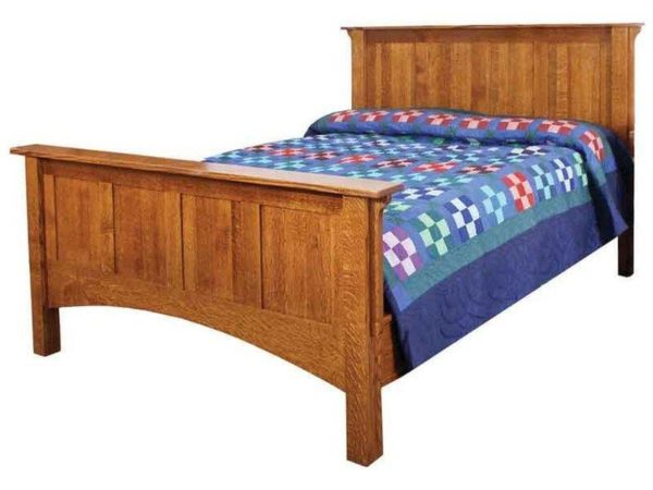 Amish Arts and Crafts Bed