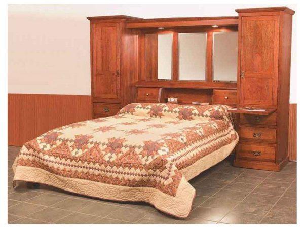 Amish Mission Pier Bed Suite