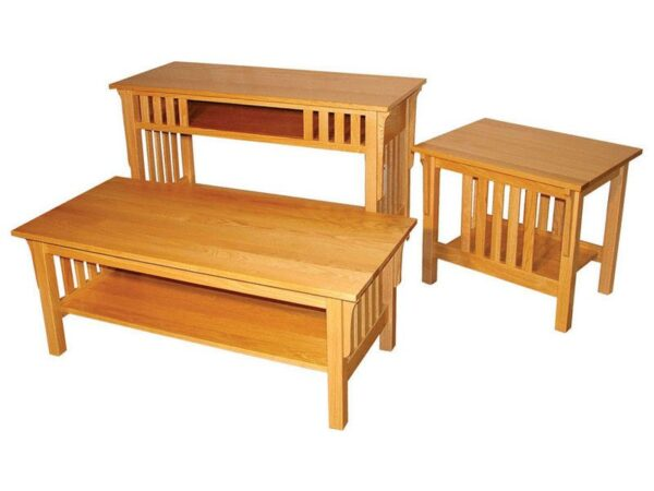 Amish Graham Occasional Table Set