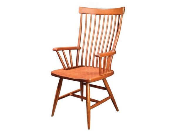 Amish Comback Bent Arm Chair