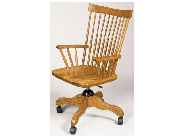 Amish Comback Desk Arm Chair