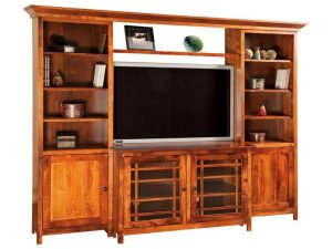Jason Mission TV Console with Bookcases