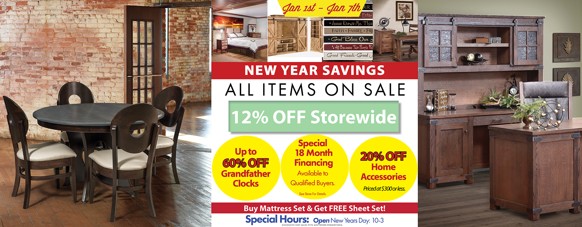 Weaver furniture sales new year savings