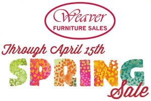 Save 70% Weaver Spring Sale