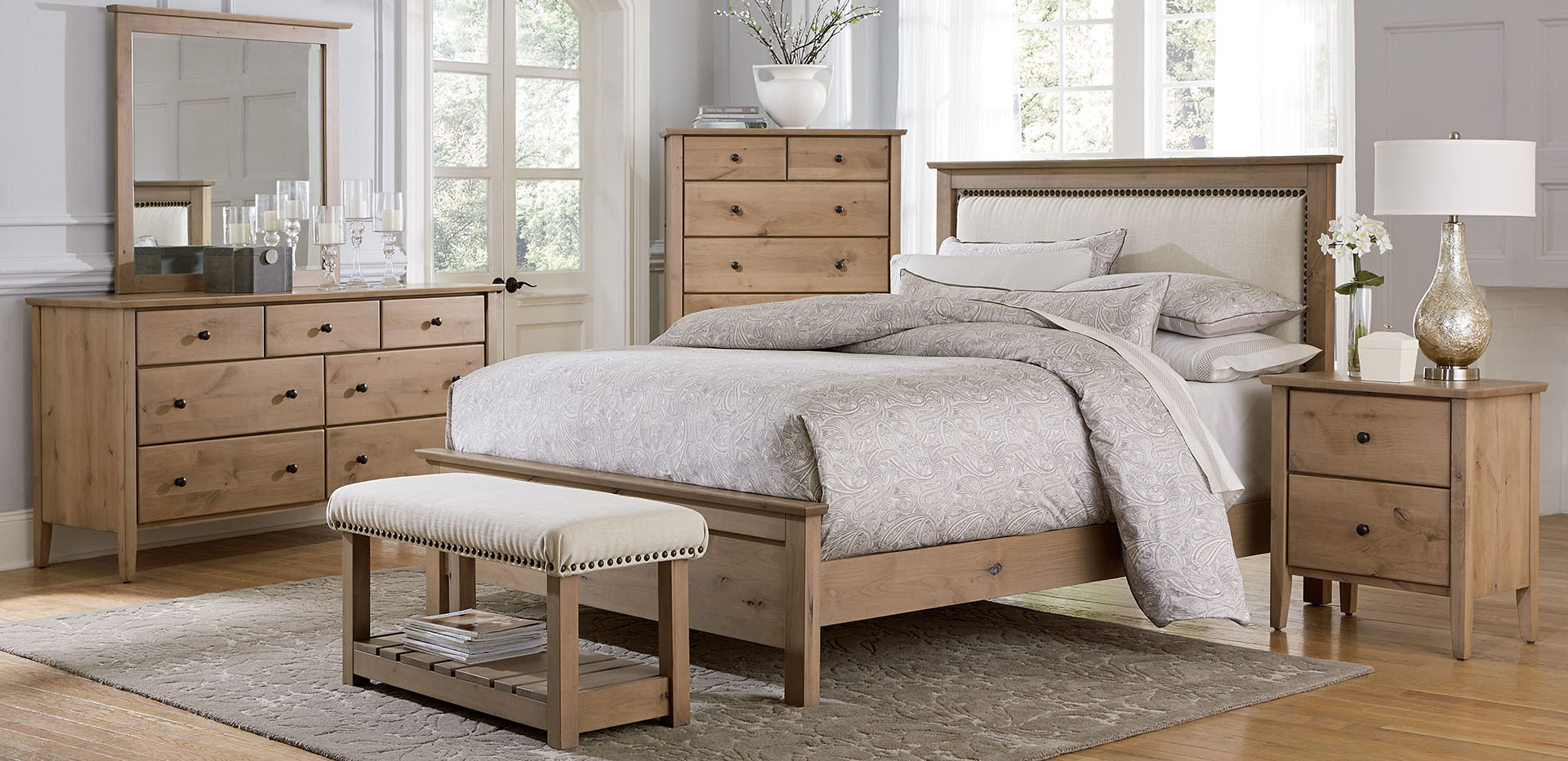 Custom built Medina Bedroom Set