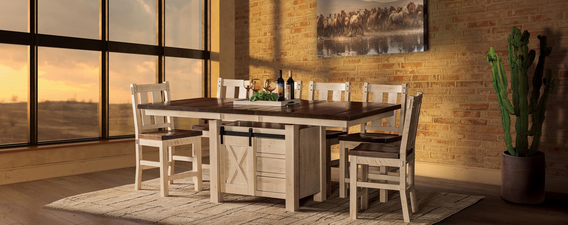 Tulsa Cabinet Dining Room Set