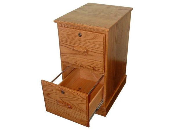 Amish Letter Size File Cabinet