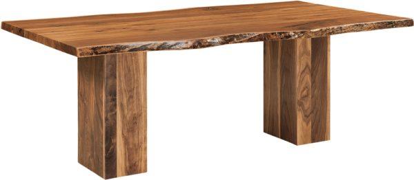 Amish Rio Vista Trestle Dining Table