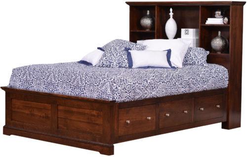 Latrobe Springs Bookcase Bed