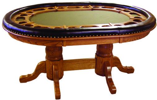8' Caledonia Pool Table