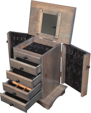 12 Gun Wood Cabinet