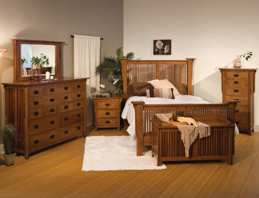 Adrianna Hardwood Bed