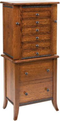 4 Drawer Shaker Jewelry Cabinet